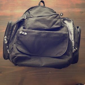 Ellie & Luke backpack diaper bag